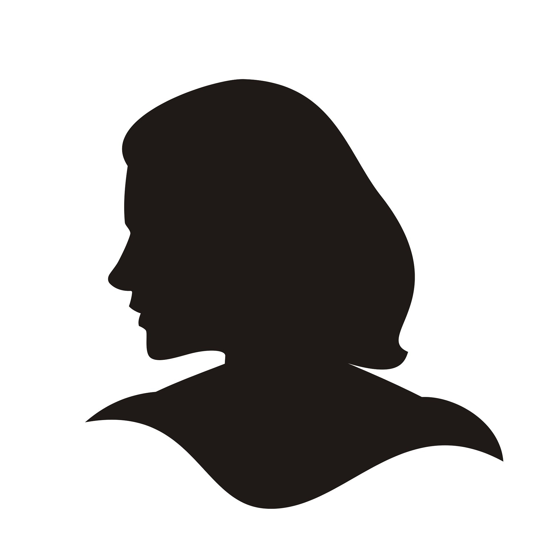 silhouette of woman   Busy Life Healthy Wife